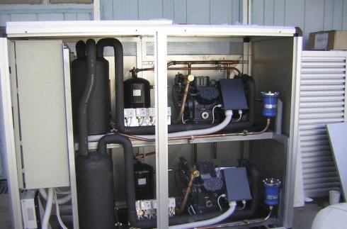 abbattitore, centrali frigorifere, camere climatiche