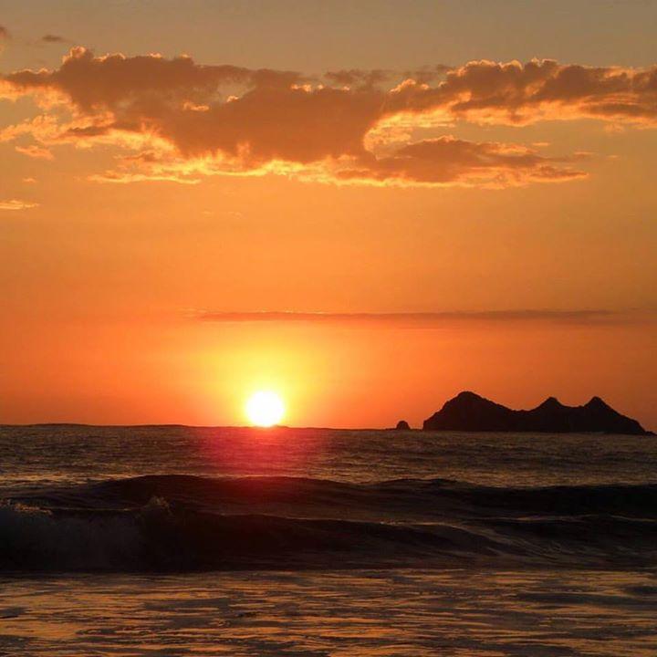 Sunset at Playa Ballena, Costa Rica
