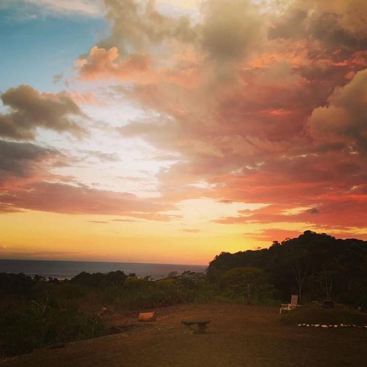 Sunset at the Lookout at Playa Tortuga
