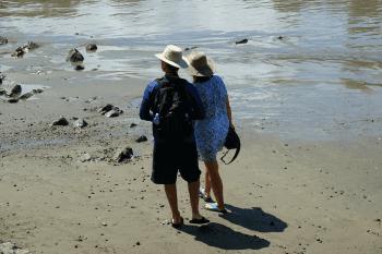 Guests at Playa Tortuga, Costa Rica