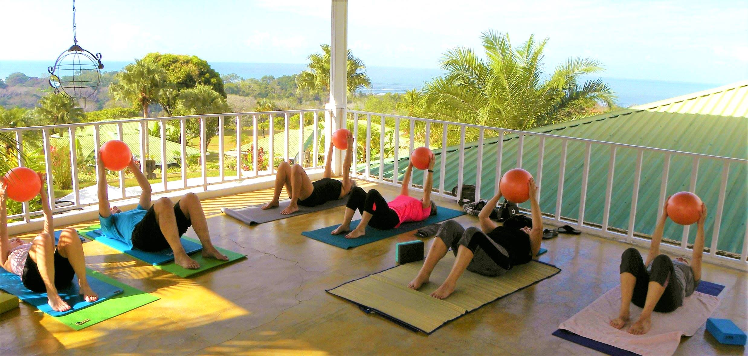 Pilates at the Lookout at Playa Tortuga