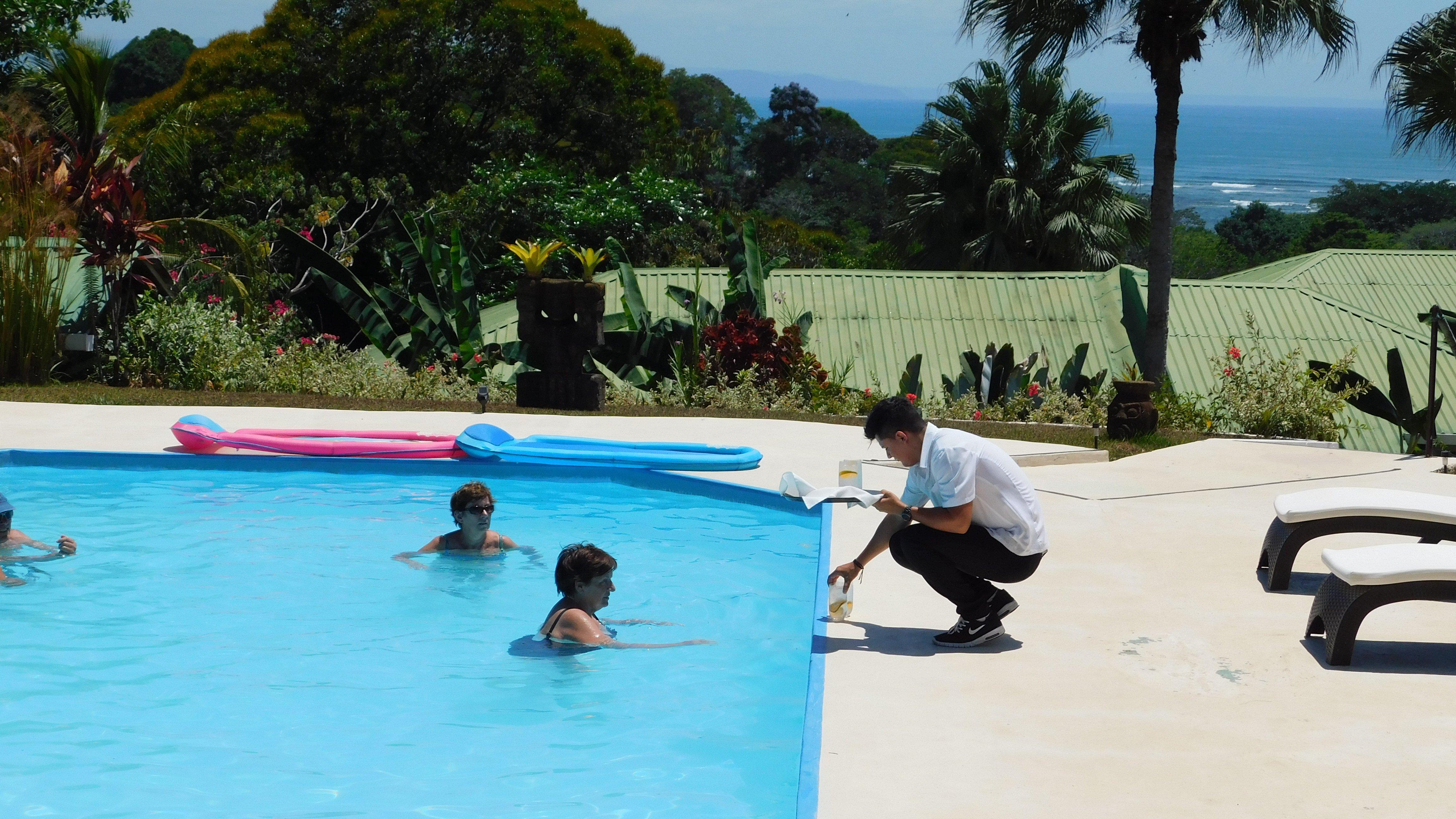 The Pool at the Lookout at Playa Tortuga