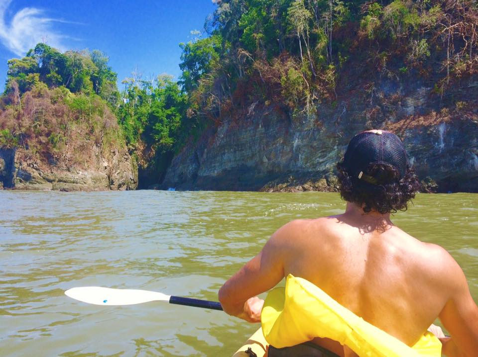 Sea Kayaking at Playa Ventanas, Costa Rica