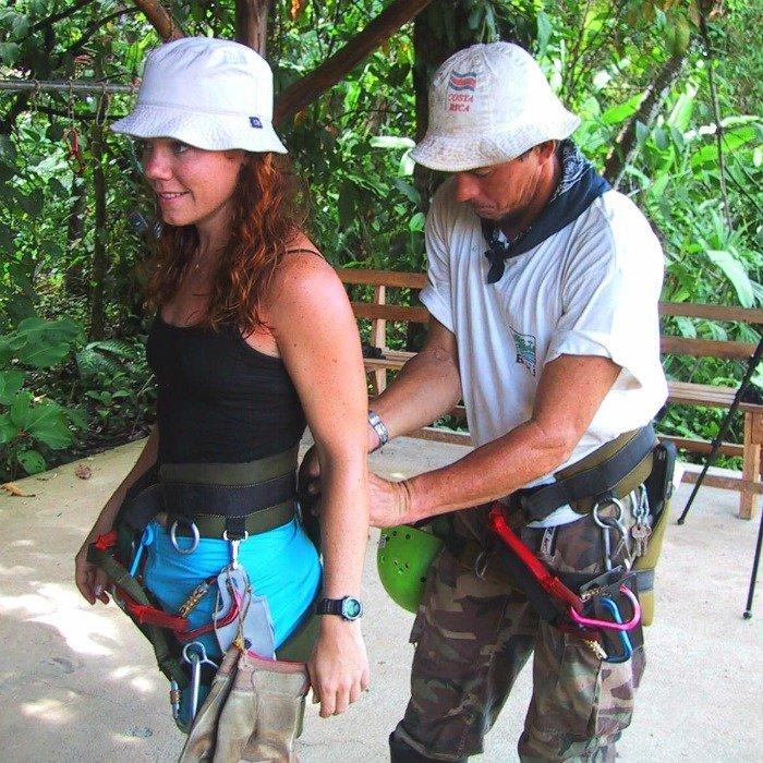 Zipline at Hacienda Baru