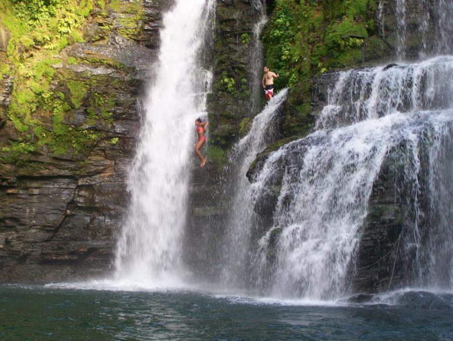 Nayauca waterfall, Costa Rica