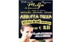Abbuffa pizza Atina , pizza a volonta' Frosinone