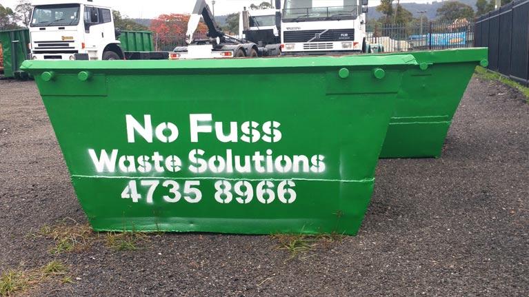No Fuss Waste Solutions Skip Bins