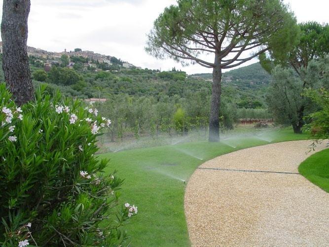 Irrigazione giardini privati e parchi