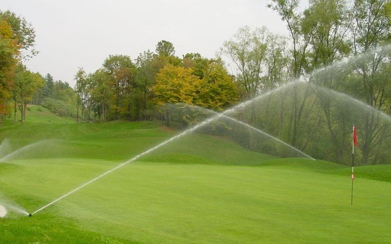 irrigazione per campi da golf