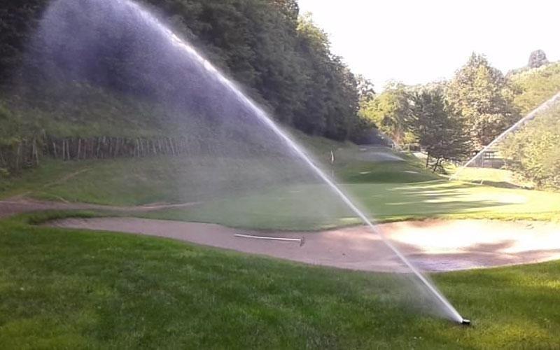 irrigazione campi da golf