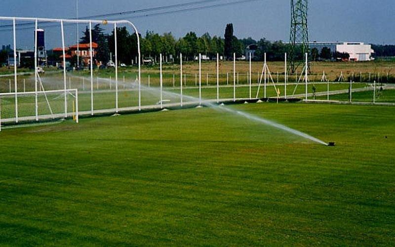 irrigazione per centri sportivi