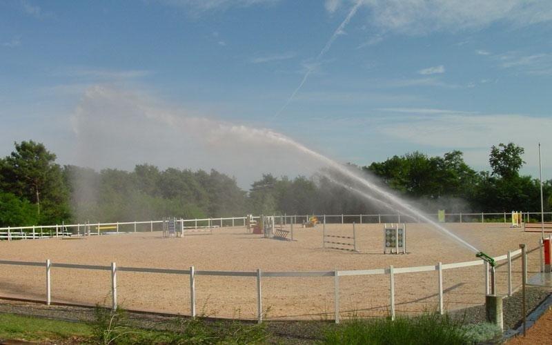 irrigazione per centri ippici
