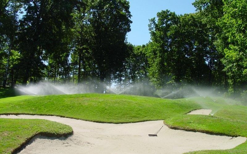 irrigazione green campi golf