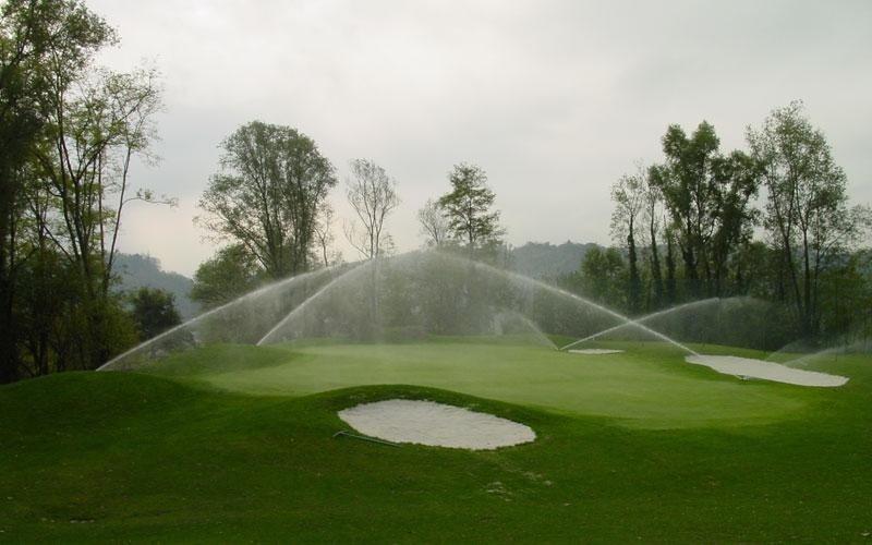 irrigazione per centri golf