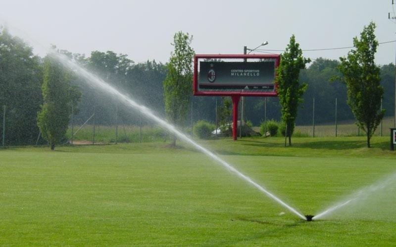 irrigazione per società sportive