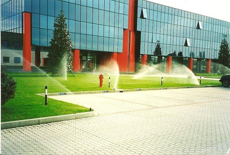 Irrigazione parchi aziendali