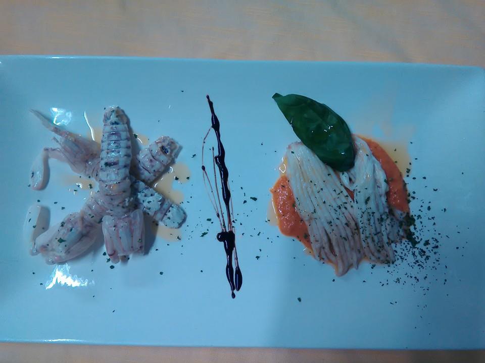 antipasto gourmet di pesce