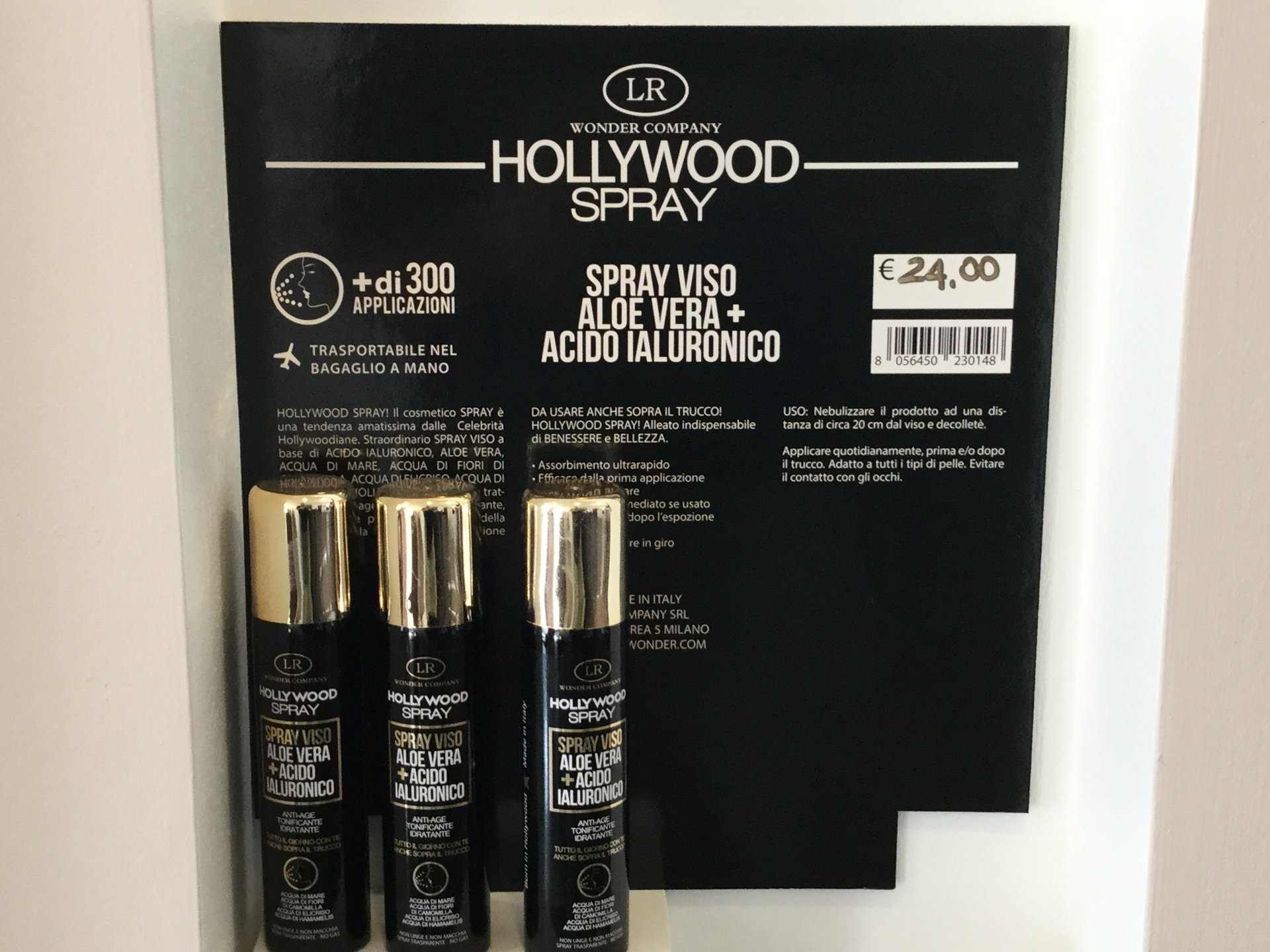 prodotti capelli hollywood spray