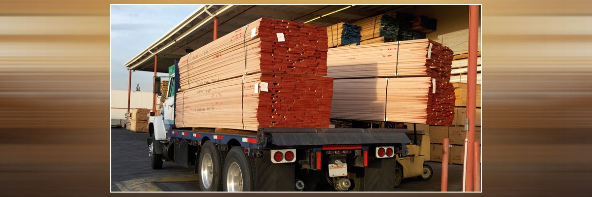 sweetmans timber in truck