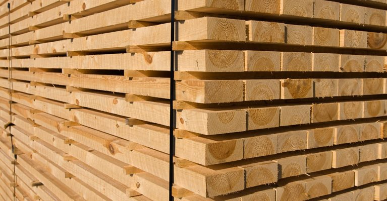 A truck full of our timber in Newcastle