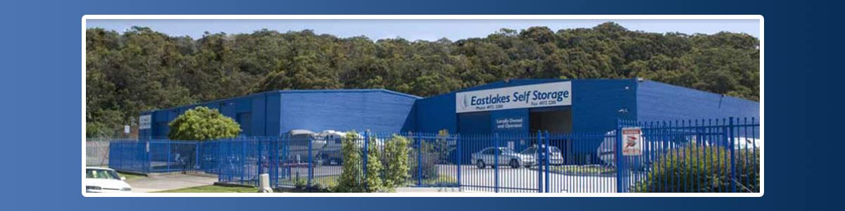 Facility for our storage units in Newcastle