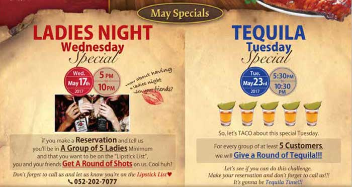 Cassis Drink Specials
