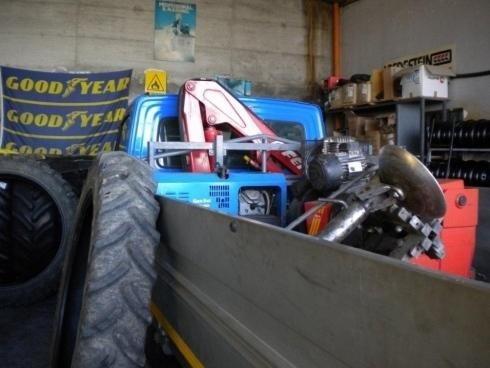 assistenza per macchine agricole