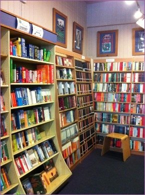 The interior of The Bell Bookshop