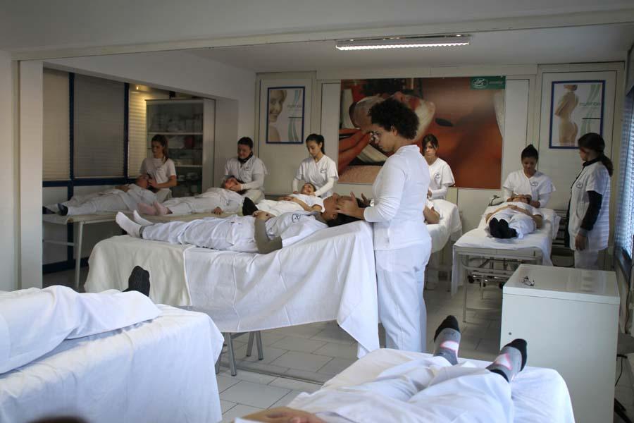 Lezione di massaggio