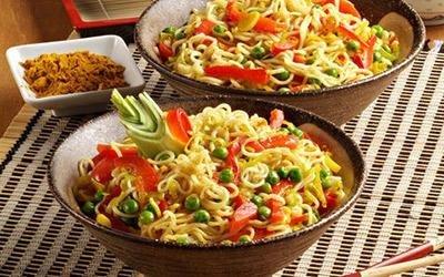 Spaghettini cinesi primavera