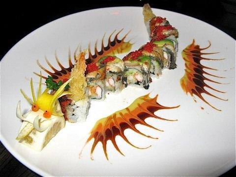 piatti cinesi, piatti giapponesi, sushi