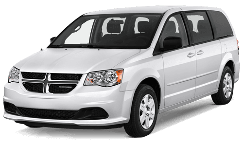 Car we use for airport shuttle service in Oahu