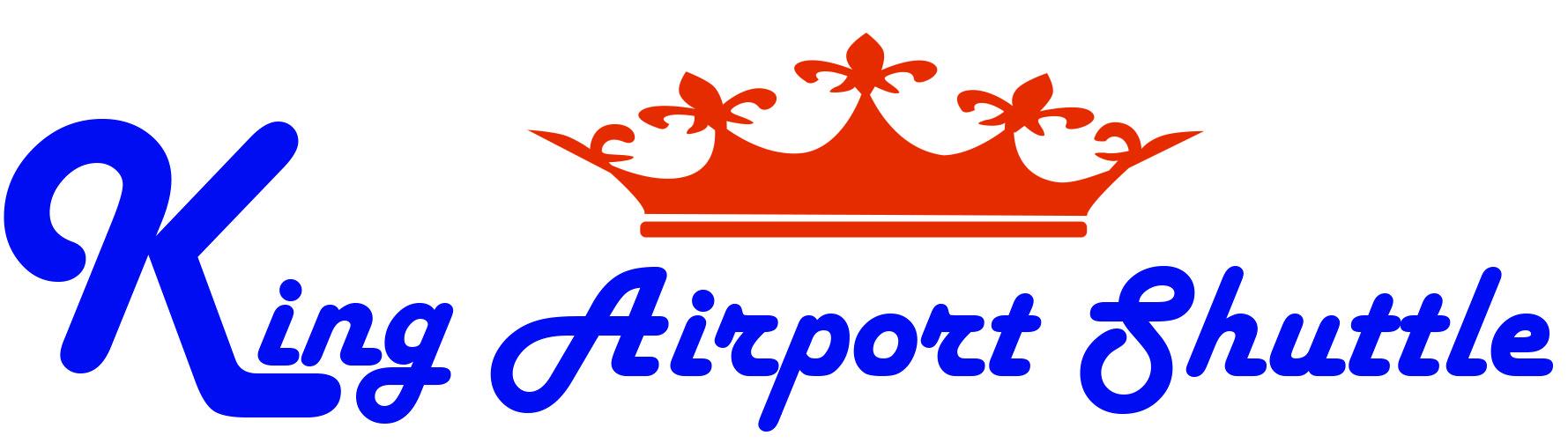 King Airport Shuttle Logo