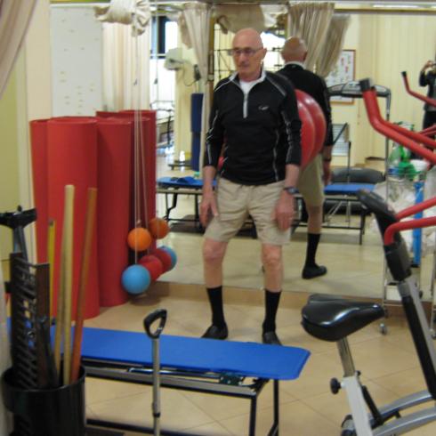 esercizi fisioterapici