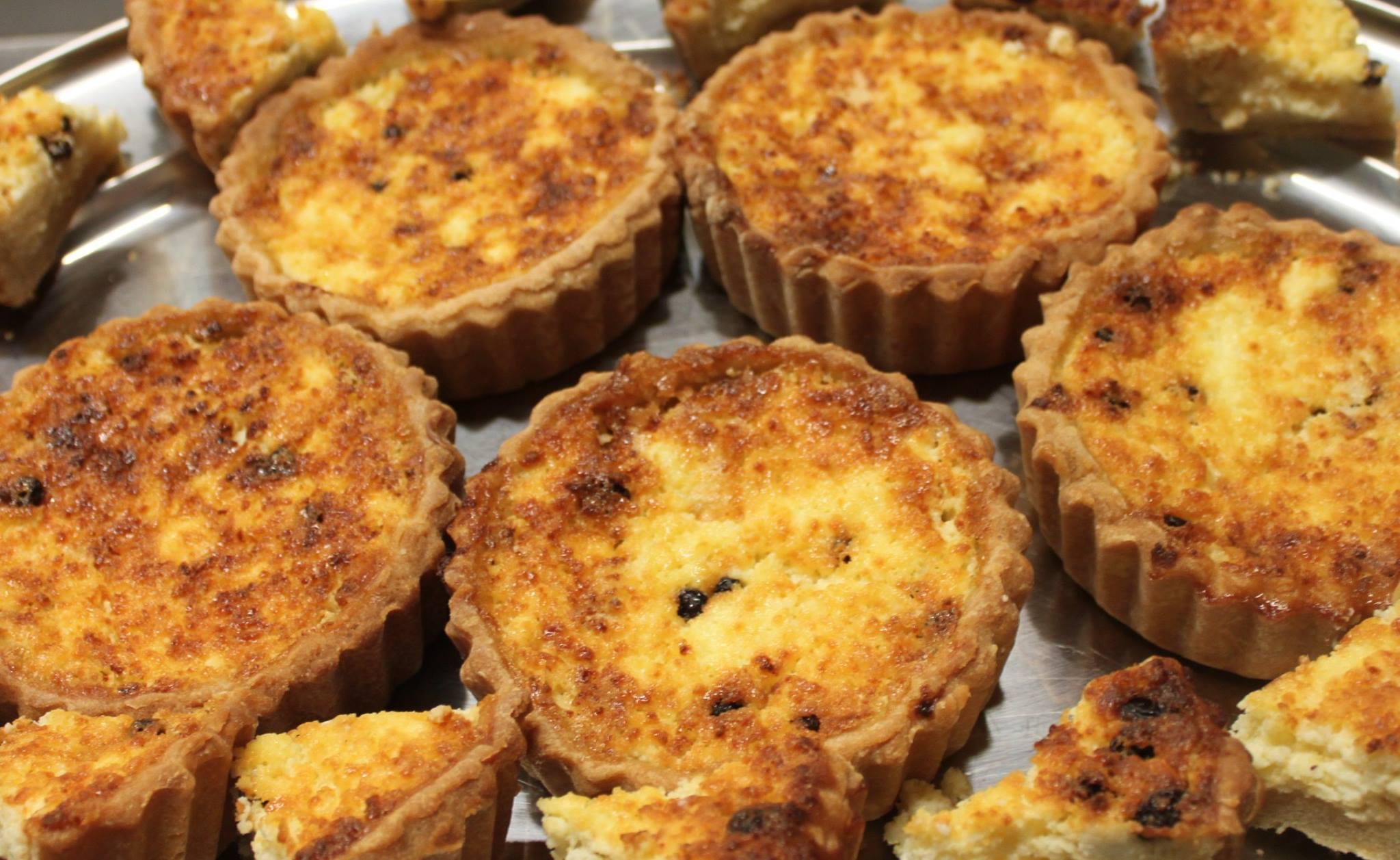 yorkshire curd tartlets