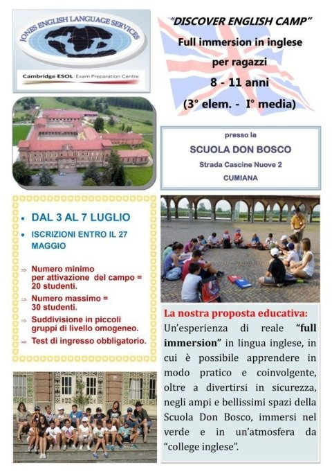 discover english camp