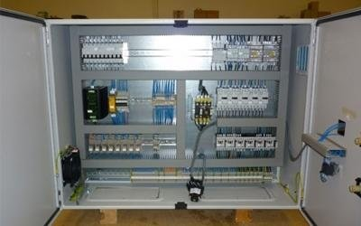 Electrical panels for the textile industry