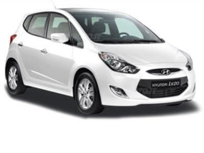 Hyundai di color bianco
