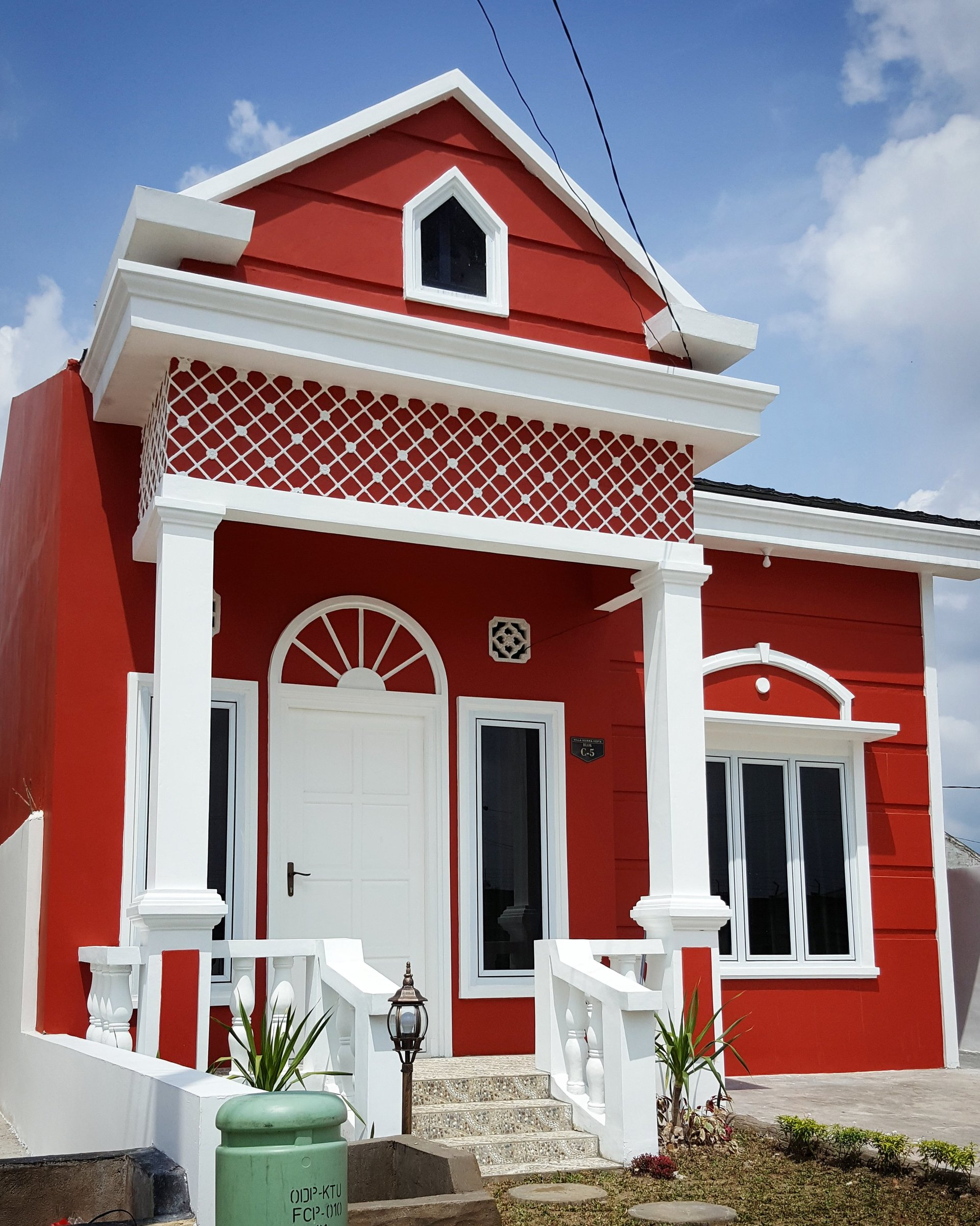 tipe 54 rumah baru di perumahan villa sierra vista palembang