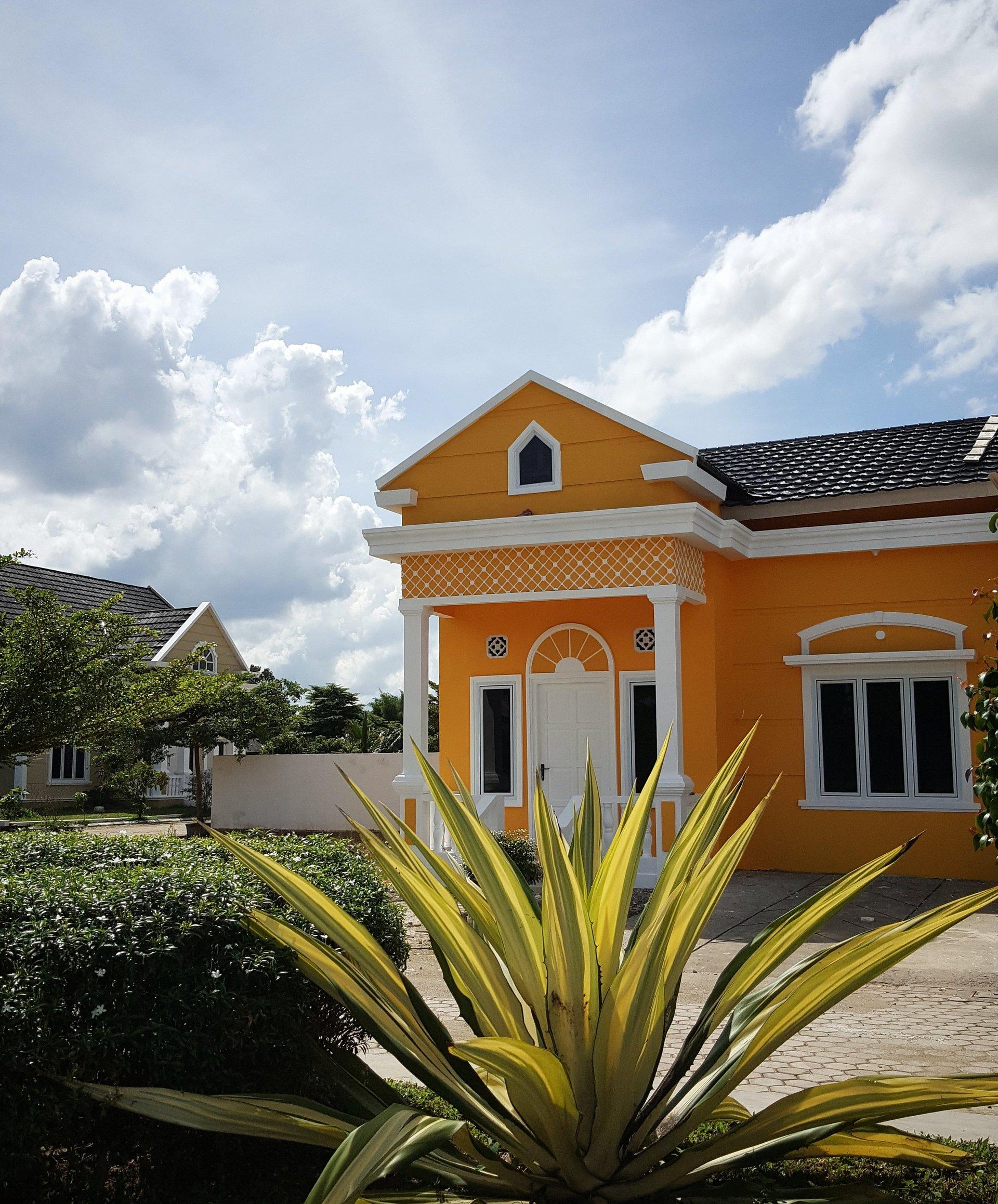 rumah baru dijual di perumahan villa sierra vista palembang
