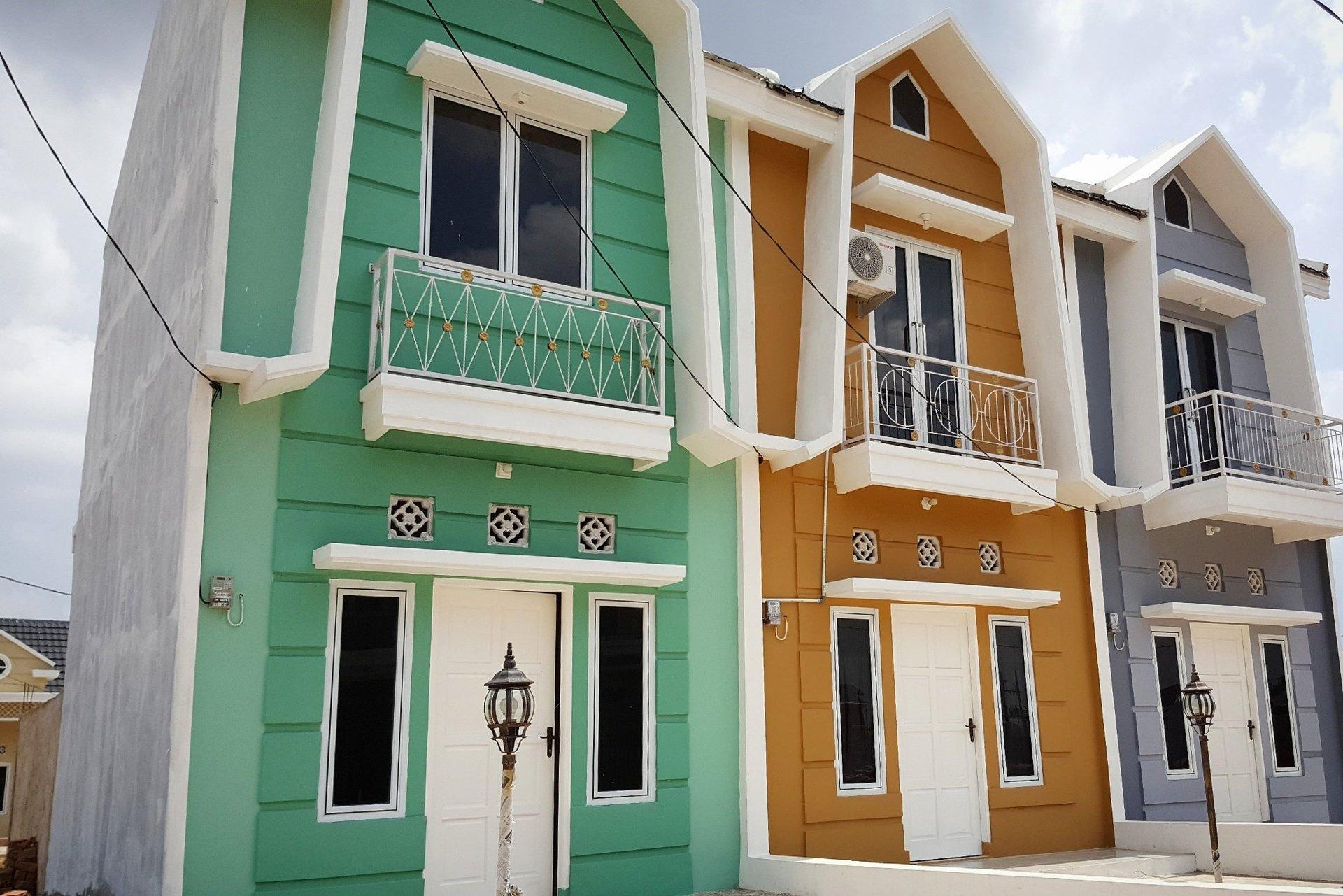 townhouse di perumahan baru villa sierra vista palembang