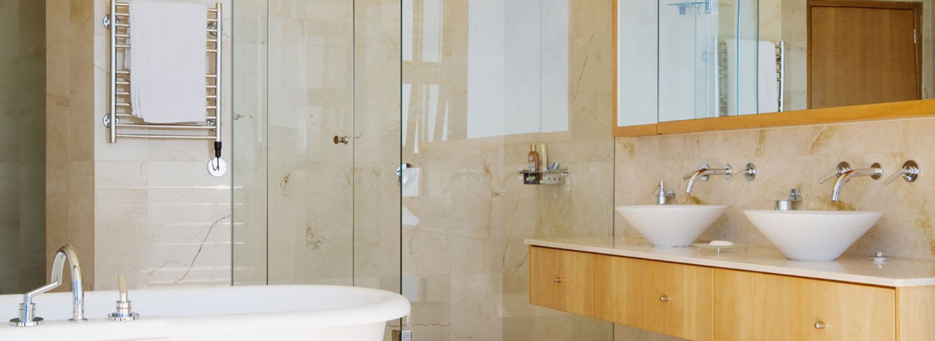 dual white sink