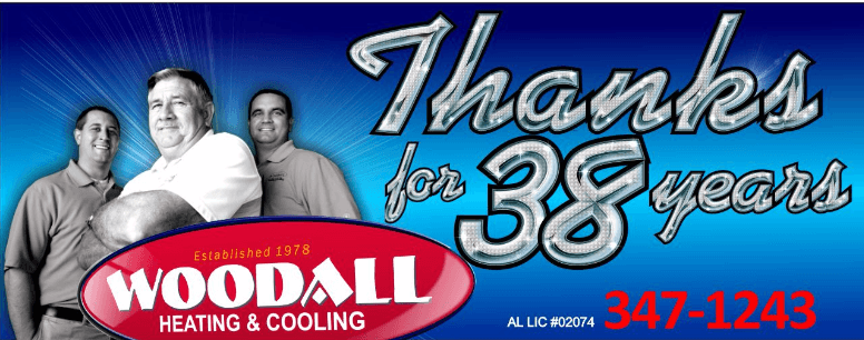 Woodall Heating & Cooling Enterprise, AL 38 years | AC Contractor Enterprise & Ozark Al