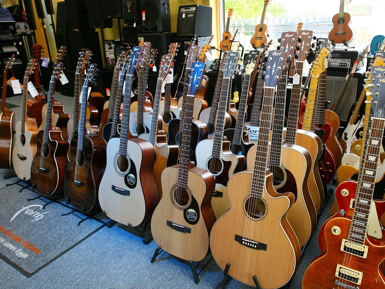 multi-sized guitars