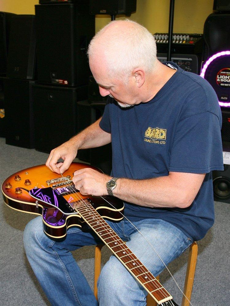 guitar for repair