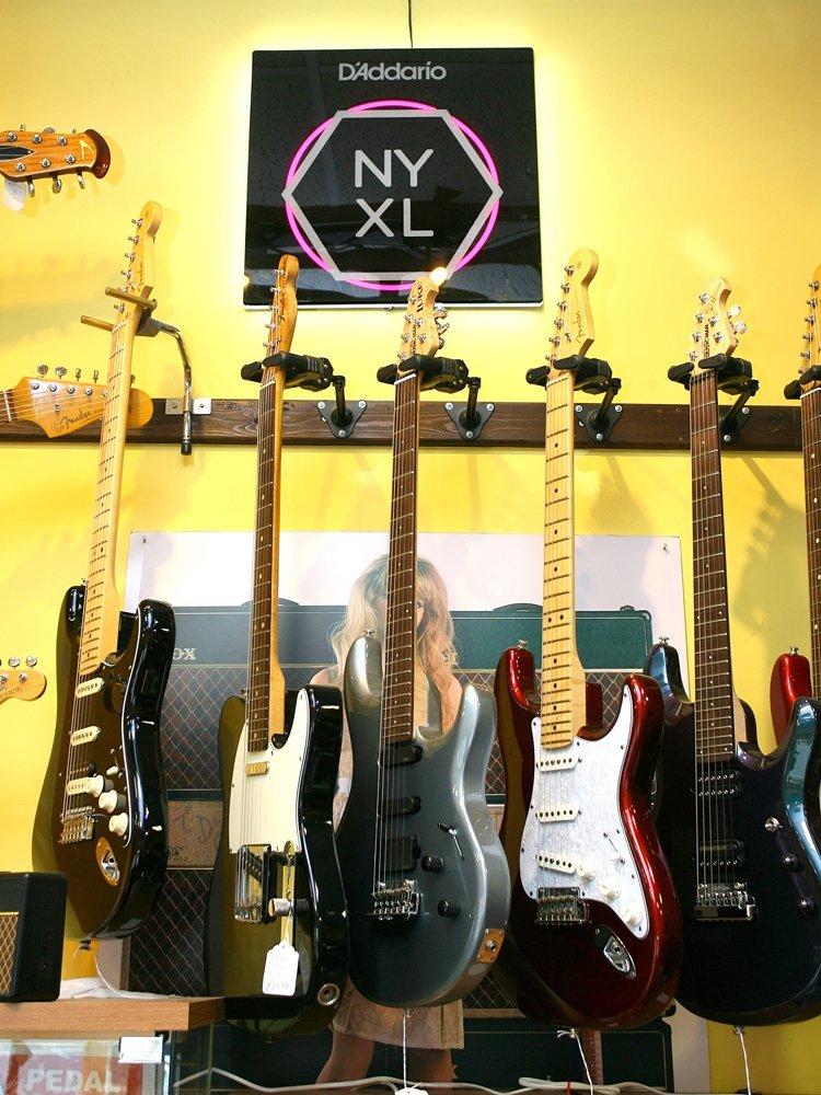 bigger sized guitars