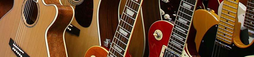a wide range of guitars