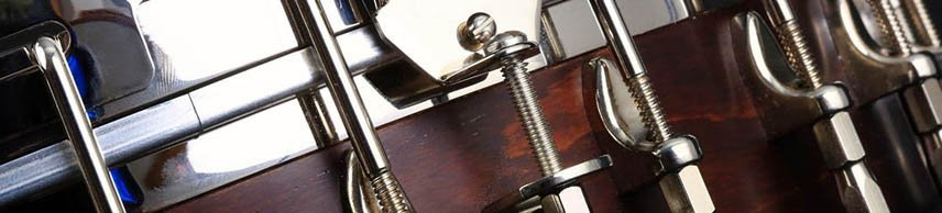 wooden guitar body
