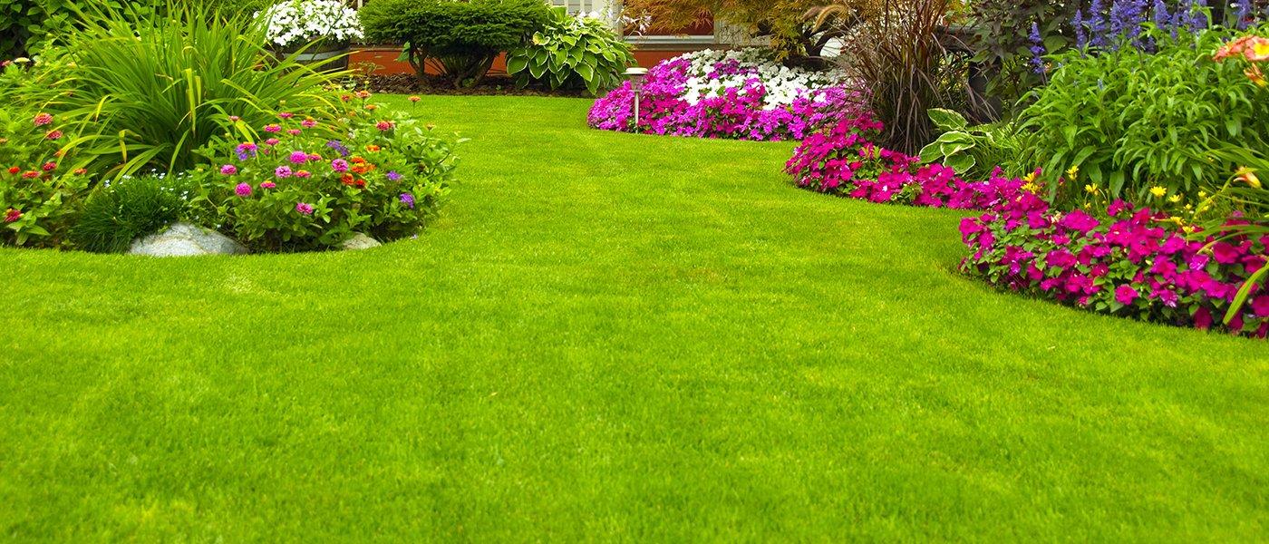 Giardino con fiori jo49 pineglen for Arredo ville e giardini