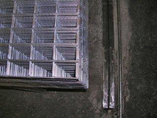 reti elettrosaldate fornite in pannelli